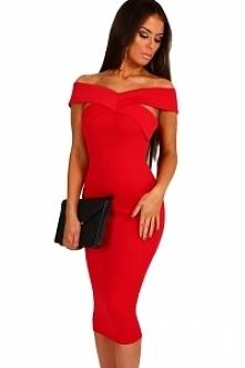 Czerwone cudo ! sukienka od MOHHO