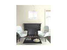 Lampy Azzardo Sidney to bajkowe oprawy oświetleniowe wewnętrzne. Połączenie przezroczystej tkaniny z eleganckimi kryształkami to bardzo trafiony wybór. Tego typu zestawienia świ...