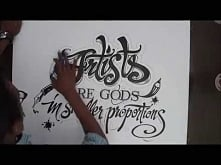 Hand-drawn Typography