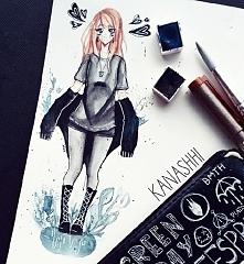 rysunek przedstawiający dawną mnie