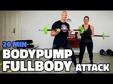 Body-pumping Fullbody Attack - 20 min Tabata Workout