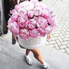 Kwiaty w pudełku <3