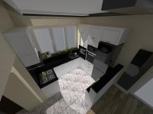 Projekt małej kuchni :)