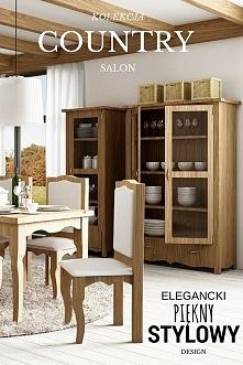 Meble w stylu CANTRYM wypełnią twój salon pięnymi i ciepłymi meblami, które s...