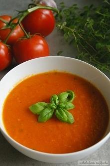 Zupa krem z pieczonych pomi...