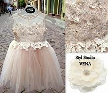 Sukieneczka dla małej księżniczki *-* Więcej na fanpage Styl Studio VENA fb
