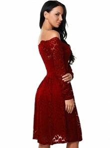Cudowna koronkowa sukienka ...