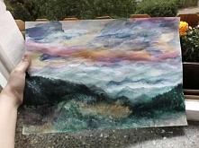 Góry,malowane po raz pierwszy