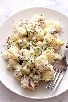 Salatka ziemniaczana z ogorkami kiszonymi