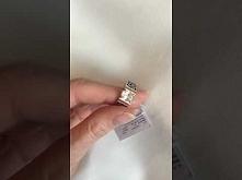 Oryginalny pierścionek ze srebra i złota z cyrkonią Magia 688. Jak wam się po...