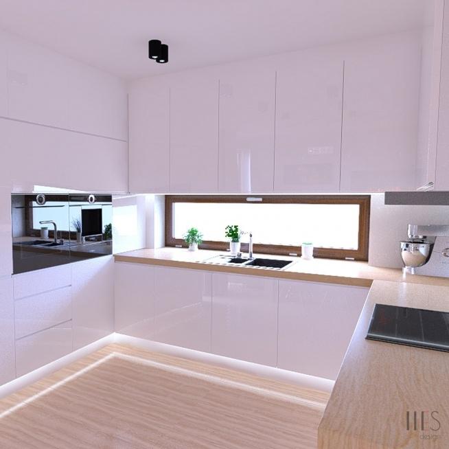3esdesign projektowanie wn trz nowy s cz na kuchnia. Black Bedroom Furniture Sets. Home Design Ideas