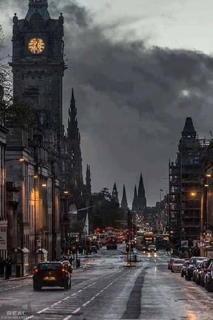 Szkocja. Edynburg