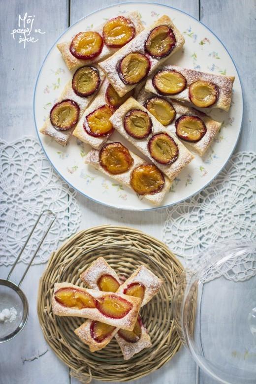 Ciasto Francuskie Ze Sliwkami Na Sweet Food Zszywka Pl