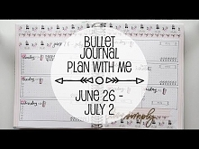 Bullet Journal Plan With Me...