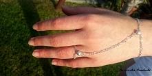 Bransoletka i pierścionek p...