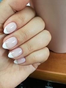 moje na obronę :) wyk. Stylizacja paznokci Eve Szymanowska #french #paznokcie