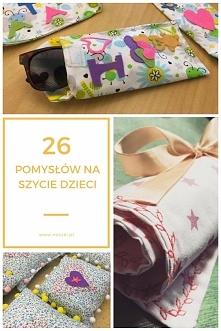 26 pomysłów na szycie dzieci - noszki.pl