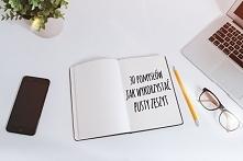 30 pomysłów na wykorzystanie pustego zeszytu