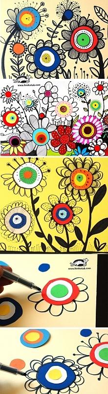 Jak narysować kwiaty