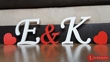 litery, napisy, inicjały z ...
