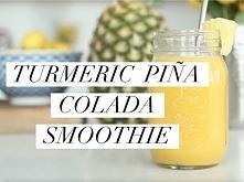 Turmeric Piña Colada Smoothie