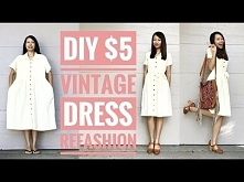 DIY: $5 VINTAGE DRESS REFAS...
