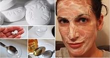 Wymieszaj miód z aspiryną i nałóż na twarz, po 3 godzinach spójrz na siebie w...
