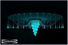 Lampy LED w salonie oprócz funkcji oświetlenia głównego, mogą także być wspaniałymi dekoracjami do pomieszczenia. Nowoczesnym rozwiązaniem jest montaż żyrandola światłowodowego ...