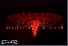 Lampa LED w salonie firmy E-Technologia.  Tel: 668 487 285