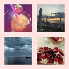 Moje wspomnienia z ostatnich wakacji... Kolorowe drinki, słodkie gofry, spoko...