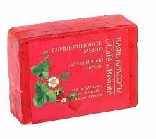 Mydło glicerynowe - ręcznie robione – o zapachu truskawki. Zawiera sok z truskawki, olej jojoba, aloes, olej kokosowy roślinną glicerynę. Mydło nawilża i odżywia skórę, zapobieg...
