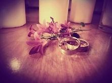 Zainspirowana sesją ślubną ;)