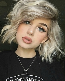 fajny lekki makijaż :)