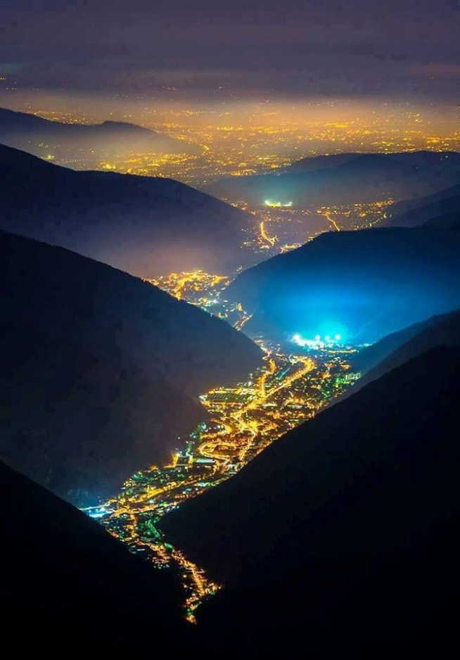 Dolina Świateł, Włochy. Niewiarygodne