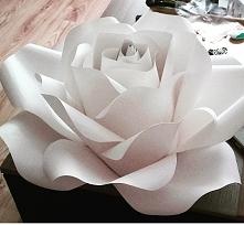 moja papierowa roza ArtystoKreacje
