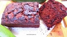 Mocno czekoladowe ciasto z cukinią