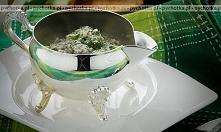 Kremowe risotto z serem roq...