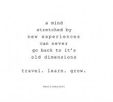 Travel. Learn. Grow.