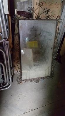 Stare lustro znalezione na strychu, pomysły?