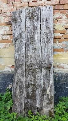 Stare drzwi... bardzo stare....  Macie jakiś pomysł?