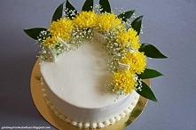 Tort cytrynowy z lemon curd...