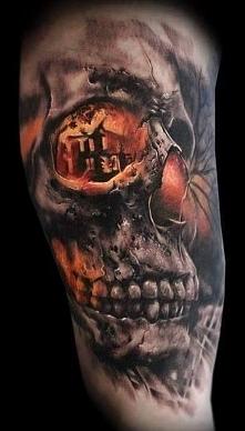 skull nice tattoo