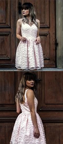 Koronkowa sukienka z kolekcji Illuminate <3 Boska <3