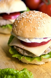 DOmowe hamburgery! To jest to!