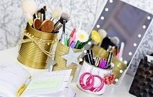 Trzy pomysły na organizer z puszek DIY. Tutorial na naszym blogu po kliknięci...