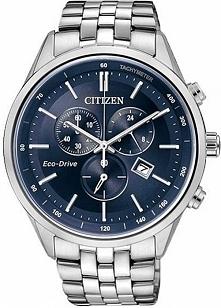 Citizen AT2141-52L stylowy zegarek męski bez wymiany baterii z systemem Eco-d...