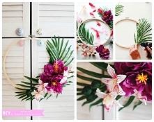 DIY - dekoracja w hawajskim...