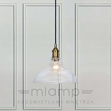Lampa wisząca MORGAN - dostępna w =mlamp=  Prezentowane oświetlenie to oryginalna oprawa, w charakterystycznym industrialnym stylu. Ciekawa forma klosza została wykonana z przez...