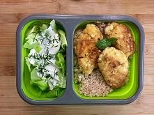 Lunch box - kotlety z jajek
