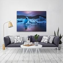 Piękny krajobraz Islandzki idealny do salonu.